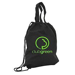 Recycled Bags,  85% Recycled Cinch Pack