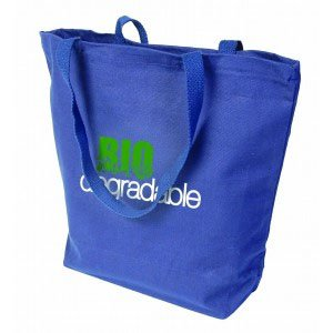 "18"" x 16"" Biodegradable Cotton Super Tote Bags"