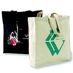 Reusable Bags, Biodegradable Cotton, Smart Shopper, 14 x 15