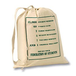 Biodegradable Cotton Bags, Large Laundry Bag