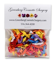 Seed Infused Confetti, Individual Header Bags