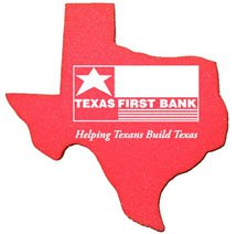 Foam Spirit Mitts, Texas Shape