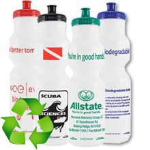 Biodegradable Sport Bottles, BPA Free, Evolve 28 oz