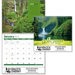 Eco-Friendly Calendars, 30% Recycled, Goingreen - 12 Month