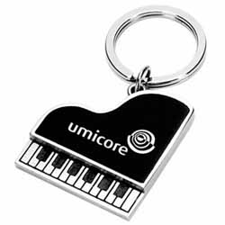 Metal Key Chains, Piano