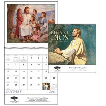 Spanish Language Calendars, God's Gift - 12 Month