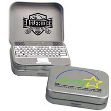 Mint Tins, Laptop Tin, 1 oz. Mints