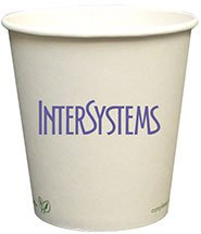 Compostable Paper Cups, Hot 10 oz.