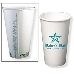 Compostable Paper Cups, Hot 20 oz.