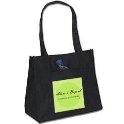Recycled Shopping Totes,  85% Recycled P.E.T. 16 x 14