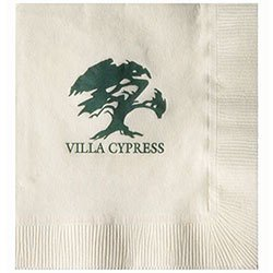 Recycled Beverage Napkins, Vanilla 3-Ply