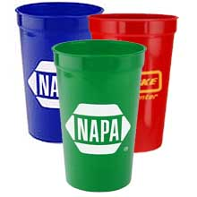 Stadium Cups, Assorted Colors, High Quantity 22 oz.