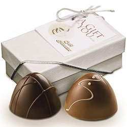 Chocolate Truffles, 2 Piece Gift Box