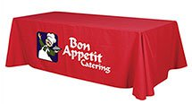 Table Covers, Poly Twill, Flat 8', 1 pc. min