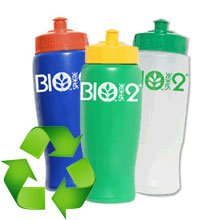 24 oz. Eco Aware Biodegradable Sports Bottles