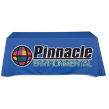 Flat 6' Full Color Table Throws, 1 pc. min