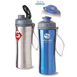 BPA Free Stainless Steel Bottles, Compass, 20 oz.