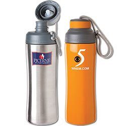 BPA Free Stainless Steel Bottles, Canteen, 20 oz.