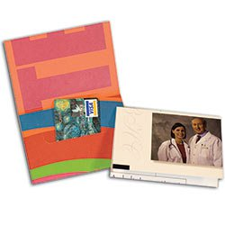"4"" x 3-1/2"" Gift Card Holders with Slit in Reinforced Panel"