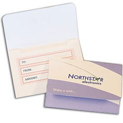 "Gift Card Holders, with Outer Flap, 3-7/8"" x 2-11/16"""