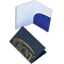 "Key Card Holders, with Curved Right Pocket, 2-3/4"" x 4-1/2"""