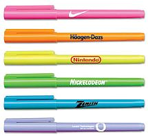 Brite Spots® Fluorescent Pocket Highlighters