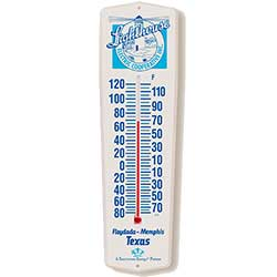 Recycled Plastic Thermometers, Outdoor Weather-Guard