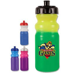 BPA Free Bike Bottles, Mood, Full Color Digital 20 oz.