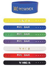 Insect Repellent Wristbands, Bug Ban