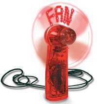 Magic Message Fans, Battery Operated