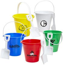 Pail with Shovel Sets, 6""