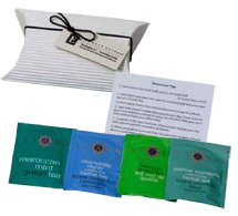 4 Herbal Teas in Pillow Pack