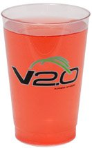 100 Custom 12 oz. Clear Tumbler Cups