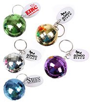Disco Ball Key Chains