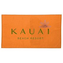 "Woven Jacquard Terry Beach Towels, 34"" x 60"""