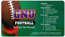 "Sports Schedule Magnets, 7"" x 4"" Round Corners"