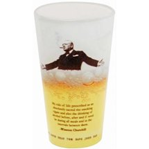 16 oz. Full Color European Pilsner Glasses