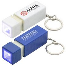 Pull-Lite Square LED Key Chains