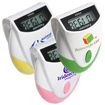 Designer Top-View Pedometers