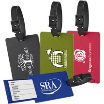 Eco Cornstarch Luggage Tags with Hidden Name Insert