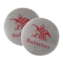 Stainless Steel Round Beverage Coasters