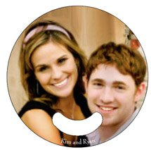 Round Stickless Wedding Hand Fans