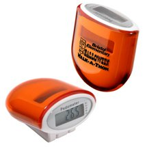 Orange Cosmic Solar Pedometers