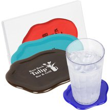 Novelty Spill Coasters - Set of 6