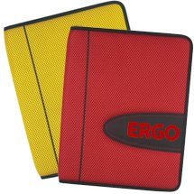 "Eclipse Mesh 8.5"" x 11"" Zippered Portfolios with Calculator"