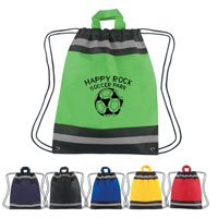Non-Woven Reflective Hit Sports Packs, 13 x 16