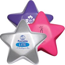Star Stress Balls - Colors