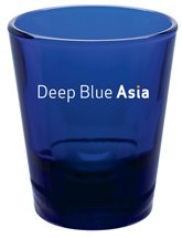 Shot Glasses, Cobalt Blue 1.5 oz.