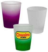 1.5 oz. Frosted Shot Glasses