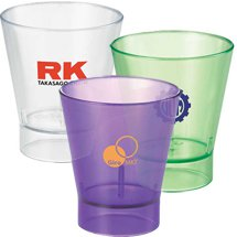 2 oz. Island Shot Glasses - Plastic
